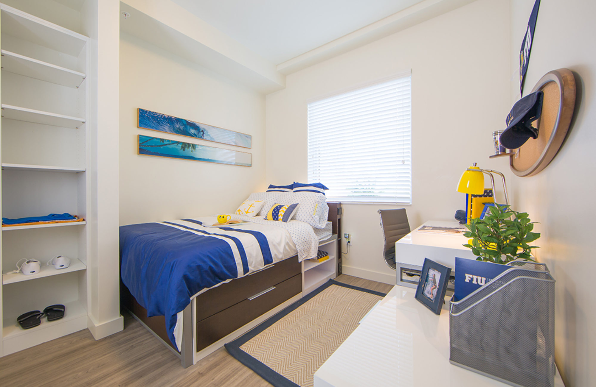 Bedroom for student