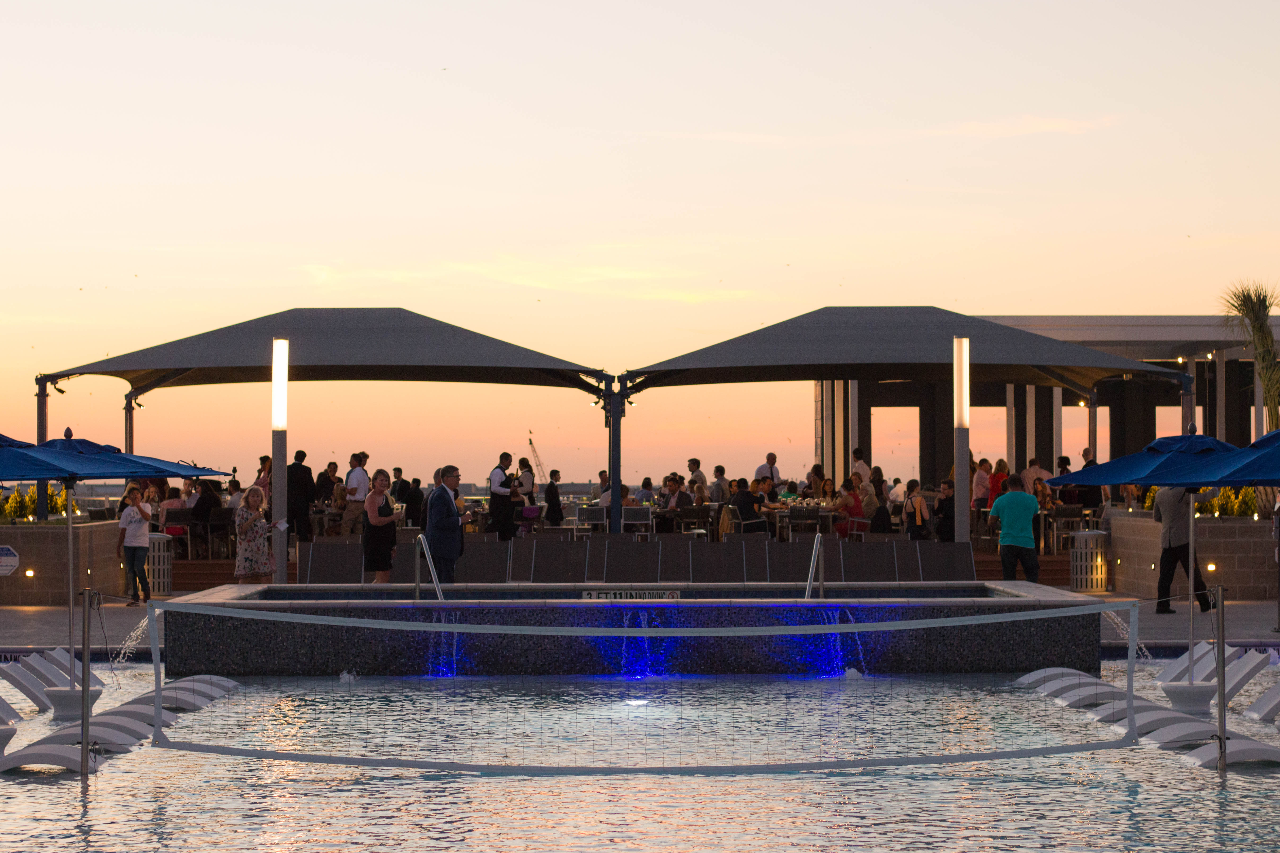 Park West Grand Opening Amenity Deck