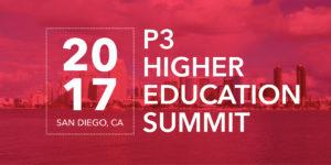 Servitas at P3 Higher Education Summit Twitter
