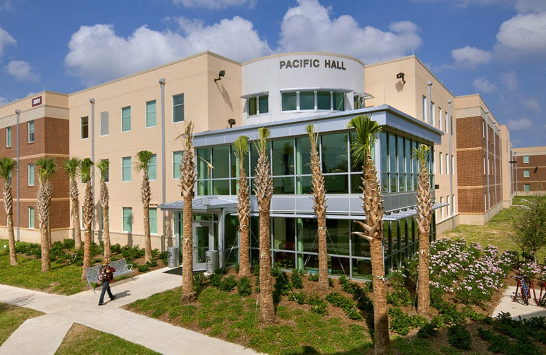 Texas A&M University Atlantic and Pacific Halls