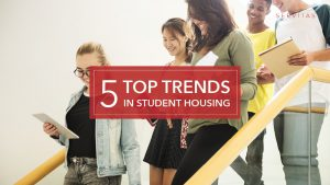 Top 5 student housing trends