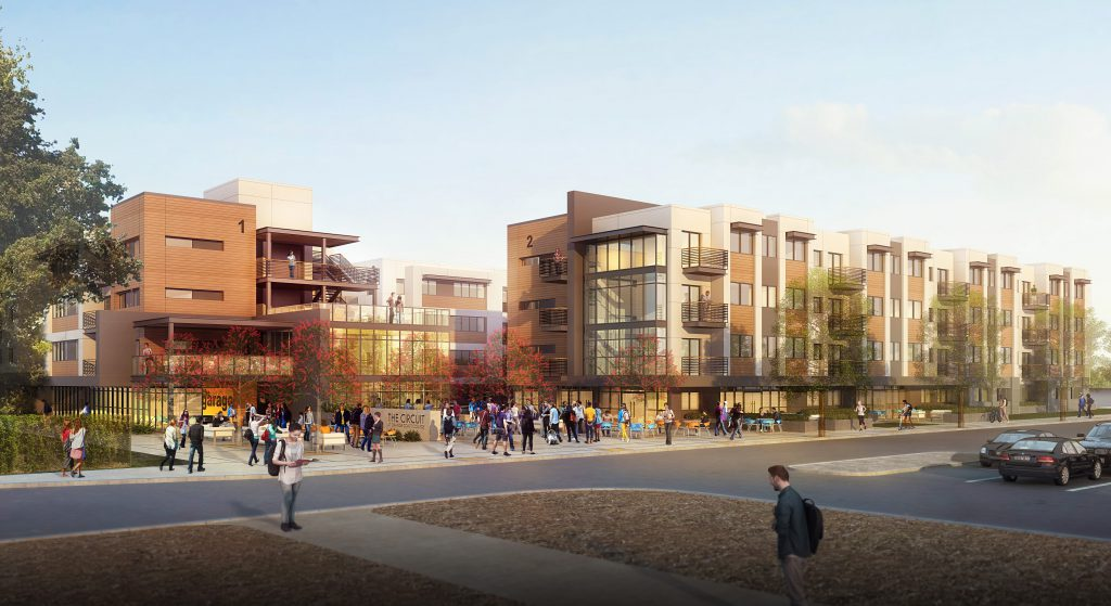 New Campus housing project
