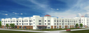 University of Louisiana Monroe on campus student housing project