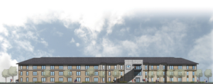 National Park college on campus student housing projects