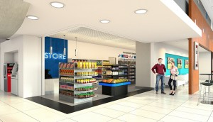 Convience-Store-Rendering-1 TAMU-Student-Housing