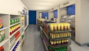 Convience-Store-Rendering-2 TAMU-Student-Housing
