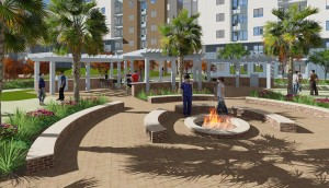 Firepit-Rendering-1 TAMU-Student-Housing