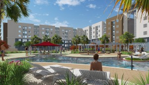 Pool-Rendering-2 TAMU-Student-Housing