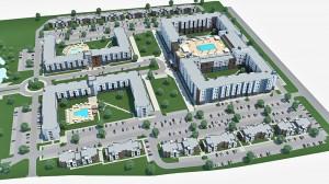 Site-Plan-Rendering-2 TAMU-Student-Housing